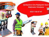 İstanbul Avrupa Yakası Şantiye Ciro Paylaşımlı Oyun Makineleri Kiralama