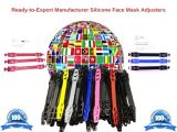 Ready-to-Export Manufacturer Silicone Face Mask Adjusters