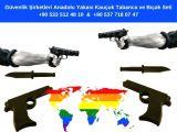 Güvenlik Şirketleri Anadolu Yakası Kauçuk Tabanca ve Bıçak Seti