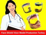 Face Shield Visor Model Production Turkey