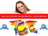 Plastic Visor Face Shield-Face Mask With Visor-Full Face Shield Visor