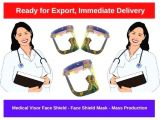 Medikal Visor Face Shield-Face Shield Mask-Mass Production