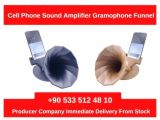 Mass Production Cell Phone Sound Amplifier Gramophone Funnel