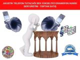 Seri Üretim Gramofon Hoparlör Ses Yükseltici-Gramofon Akustik Huni