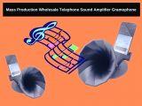 Mass Production Wholesale Telephone Sound Amplifier Gramophone