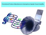 Promotional Products Manufacturers-Gramophone Speaker Sound Amplifier
