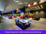 Products Exported to Arab Countries Game Hall Setup