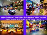 Akdeniz Bölgesinde Turizm Otellere Oyun ve Eğlence Merkezi Kurulumu