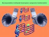Massenproduktion Großhandel Grammophon Lautsprecher Schallverstärker
