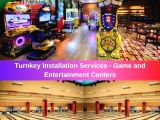 We Build Game and Entertainment Areas for Hotels