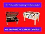 Ciro Paylaşımlı Kiralık Langırt Oyun Makinaları İstanbul