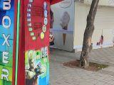 Eğitim Kurumlarına Üniversite Kantinlerine Boks Oyun Makineleri